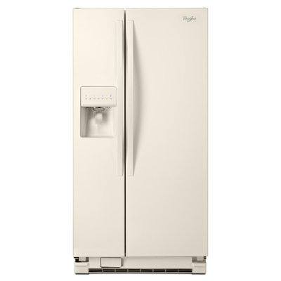 Whirlpool 21.22 Cu. Ft. Side-by-Side Refrigerator - Bisque