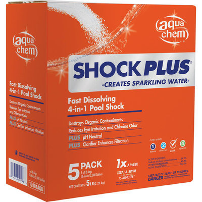 Aqua Chem Swimming Pool Shock Plus