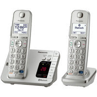 Panasonic KX-TGE262S Link2Cell Bluetooth Enabled Phone with Answering Machine