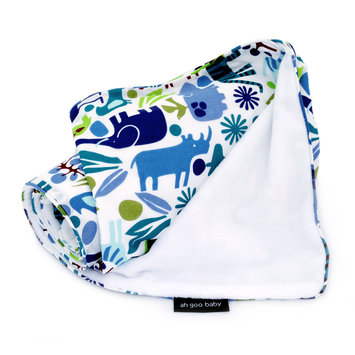 Ah Goo Baby Stroller Blanket Pattern: Zoo Frenzy