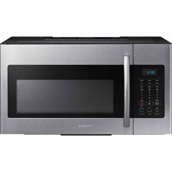Samsung 30 in. W 1.7 cu. ft. Over the Range Microwave in Stainless Steel with Sensor Cooking ME17H703SHS