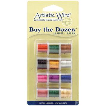 Beadalon Buy The Dozen 28 Gauge Colored Copper Wire