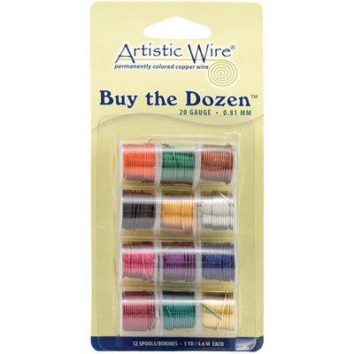 Beadalon Buy The Dozen 20 Gauge Colored Copper Wire
