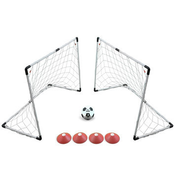 Lion Sports Inc. Two Goal 4' x 3' Soccer Game Set