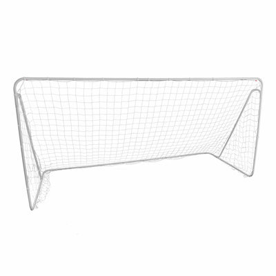 Lion Sports Inc. Lion Sports Premier Portable Steel Soccer Goal - 12 x 6 ft.