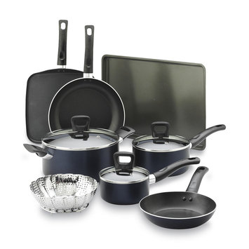 T-fal Corporation 11-Piece Non-Stick Banquet Set & Baking Sheet