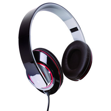 Sunbeam 72-SB540 Stereo Bass Foldable Headphones - Black