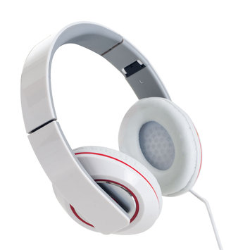 Sunbeam Stereo Bass Foldable Headphones - White