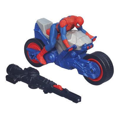 Hasbro Marvel Ultimate Spider-Man Blast 'N Go Spider Cycle Vehicle