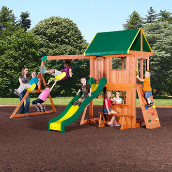 Adventure Playsets Somerset All Cedar Playset