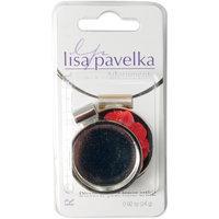 JHB LP2714-7 Lisa Pavelka Silver Plated Bezel 1-Pkg-Round