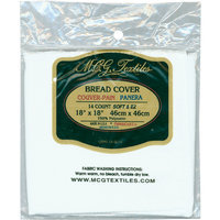 M C G Textiles Continental Bread Cover 14 Count 18
