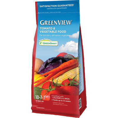 Greenview Fertilizers 4 lb. Tomato and Vegetable Food 2731089X