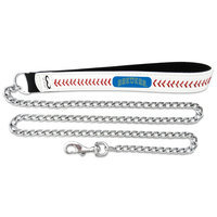 Gamewear MLB Baseball Dog Chain Leash