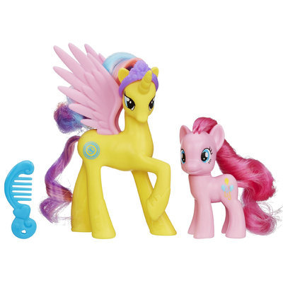 Hasbro My Little Pony Princess Gold Lily and Pinkie Pie Figures