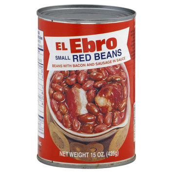 Ebro Packing Co Inc Red Beans, Small, 15 oz (425 g)
