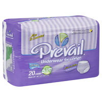 First Quality Products Inc. Underwear, for Women, Extra Absorbency, S/M, Lavender, 20 pairs