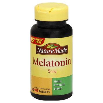 Pharmavite Melatonin, 5 mg, Tablets, 103 tablets