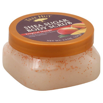 Naterra International Inc. Body Scrub, Shea Sugar, Tropical Mango, 5.5 oz (156 g)