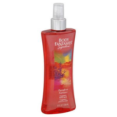 Body Fantasies Paradise Fantasy Fragrance Body Spray, 8 fl oz