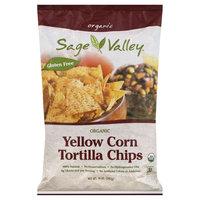 Sage Valley Organic Yellow Corn Tortilla Chips 14 oz