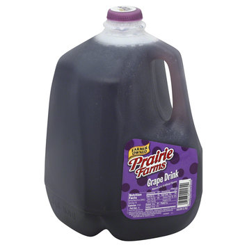 Prairie Farms Dairy, Inc. Drink, Grape, 1 gl (3.78 lt)