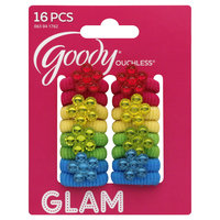 Goody Products Inc. Girls Jewel Flower Terry-O's, 16 pcs