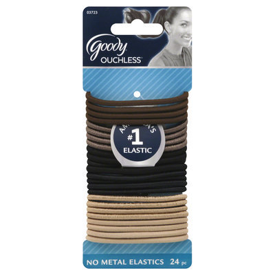 Goody Products Inc. Ouchless Thick Starry Nights Elastics, 24 CT