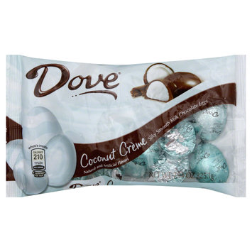 Dove Chocolate Silky Smooth Eggs, Coconut Creme,