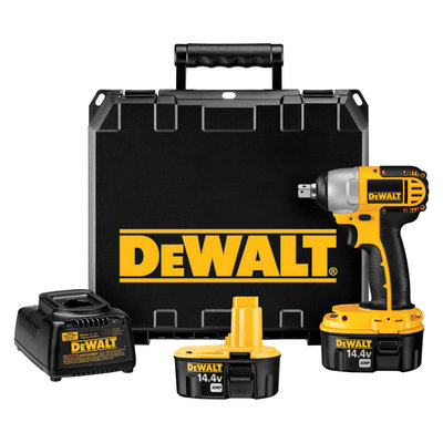 DEWALT DC830KA Cordless Impact Wrench Kit,14.4V