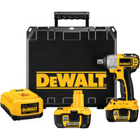 DEWALT DC822KL Cordless Impact Wrench Kit,18.0V