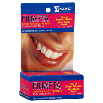 Finafta Anesthetic Analgesic Liquid 0.5 oz - Liquido Analgesico