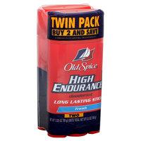 Old Spice High Endurance Deodorant, Long Lasting Stick, Fresh, Twin Pack, 2 3.25 oz (92 g) units [6.5 oz (184 g)] - PROCTER & GAMBLE
