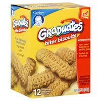 Gerber Products Company Graduates Biter Biscuits, 10+ Months, 12 biscuits [5 oz (142 g)]