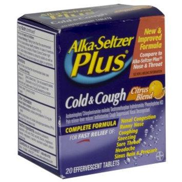 Alka-Seltzer Plus Cold & Cough, Citrus Blend, Effervescent Tablets