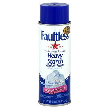 Faultless Heavy Starch, Original Fresh Scent, 22 oz (1 lb 6 oz) 624 g - FAULTLESS STARCH/BON AMI CO.