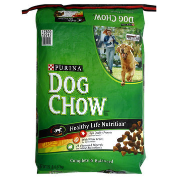 Nestlé Purina Purina Dog Chow Brand Dog Food - Complete and Balanced - 1 Bag (20 lbs)