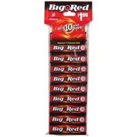 Big Red Chewing Gum, Cinnamon, 10 5 stick packs - WM. WRIGLEY JR. COMPANY