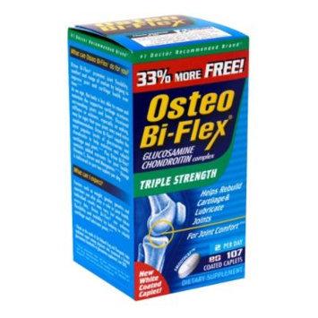 Osteo Bi-Flex Glucosamine Chondroitin Complex, Triple Strength, Smoothcap White Coated Caplets, Bonus, 160 caplets