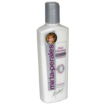 Mirta de Perales Hair Dressing Cream, with Placenta, 8 oz (227 g) - MIRTA DE PERALES, INC.