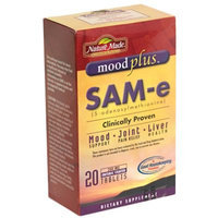 MoodPlus SAM e, 200 mg, Enteric Coated Tablets, 20 tablets - Nature Made