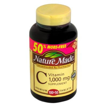 Vitamin C, 1000 mg, Premium Tablets, 150 tablets - Nature Made