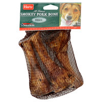 Hartz Mountain Corp. Smokey Pork Bone, for Small Dogs, 3 bones [4.8 oz (136 g)]