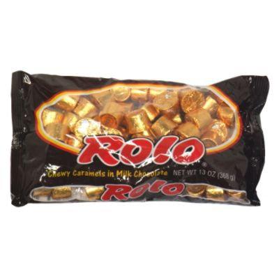 Rolo Chewy Caramels in Milk Chocolate, 13 oz (368 g) - HERSHEY CHOCOLATE U.S.A.