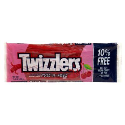 Twizzlers Pull N Peel, Cherry - Hershey Chocolate