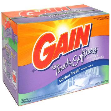 Gain Detergent, Plus a Touch of Softness, Cotton Fresh, 124 oz (7.75 lb) 3.51 kg - PROCTER & GAMBLE COMPANY