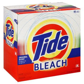 Procter & Gamble Tide Laundry Detergent w/Bleach, 214oz Box