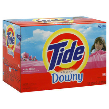 Procter & Gamble Company Tide With a Touch of Downy Detergent, April Fresh, 146 oz (9.12 lb) 4.13 kg