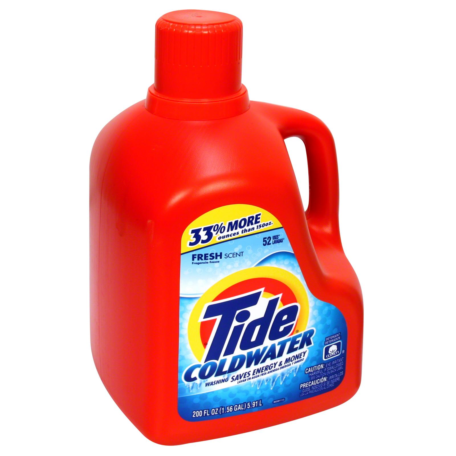 Tide Coldwater Detergent, Fresh Scent Laundry Detergent