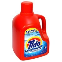 Tide Coldwater Detergent, Fresh Scent, 200 fl oz (1.56 gal) 5.91 lt - PROCTER & GAMBLE COMPANY